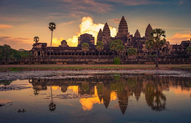 Angkor Wat Shared Tours small Groups sun set 10$/person